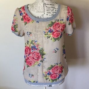 Flower print blouse - Ali & Kris
